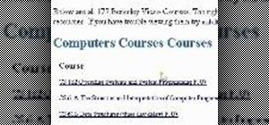 Download university courses online - free