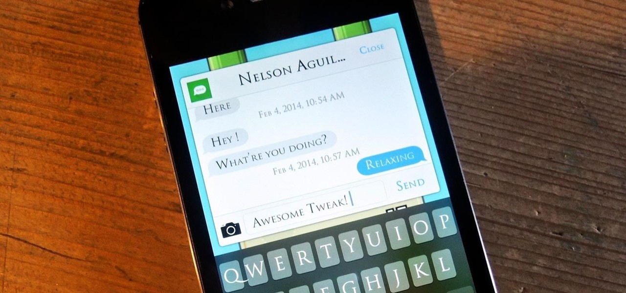 Quick Reply & Compose Text Messages Without Leaving the Current App on Your iPhone