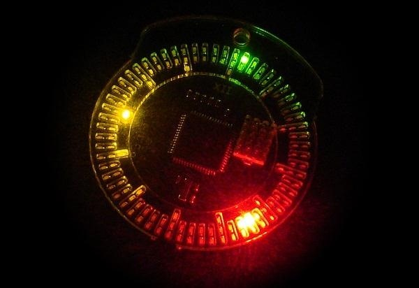 How to Make a Totally Geeky LED Pocket Watch That Tells Time in Colors