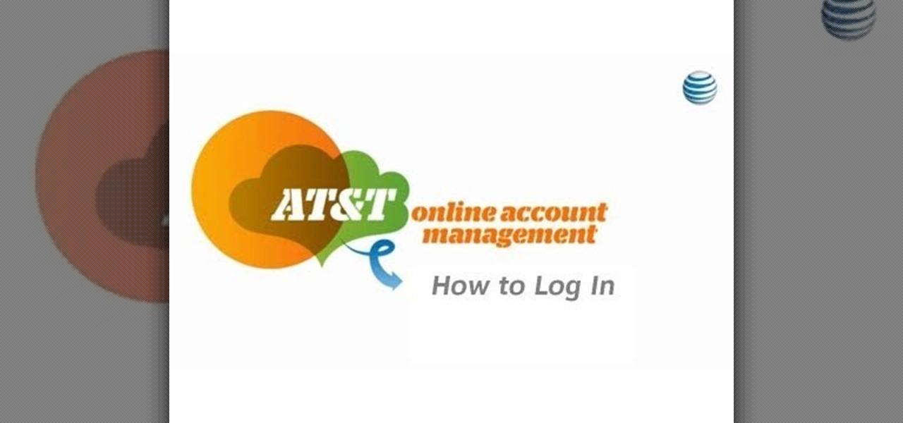 how to log in to at t online account management internet gadget hacks. Black Bedroom Furniture Sets. Home Design Ideas