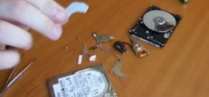 Get the magnet out of a hard disk drive