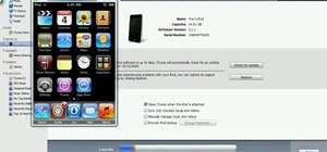 Jailbreak your iPod Touch 2G 3.1.1 on Windows