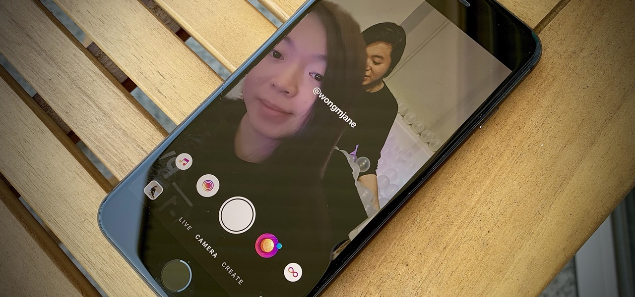 Choose Your Own AR Backdrops for Instagram Stories