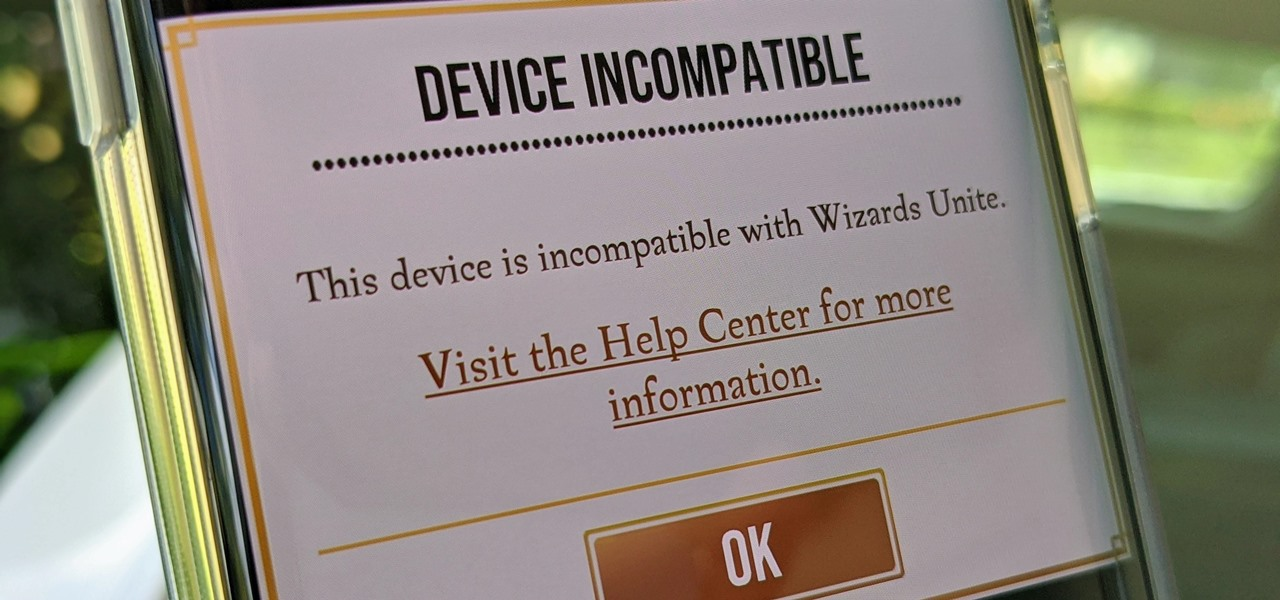 Fix the Wizards Unite 'Device Incompatible' Error for Rooted Android Phones