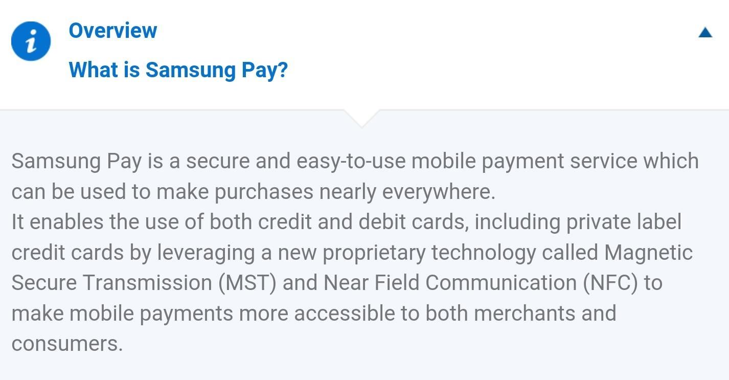 Here's Everything You Should Know About Samsung Pay