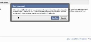 Secure your public search profile on Facebook