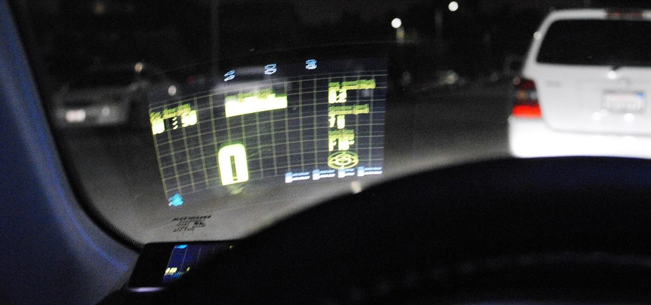 Turn Your Nexus 7 Tablet into a Futuristic Heads-Up Display (HUD) for Your Car