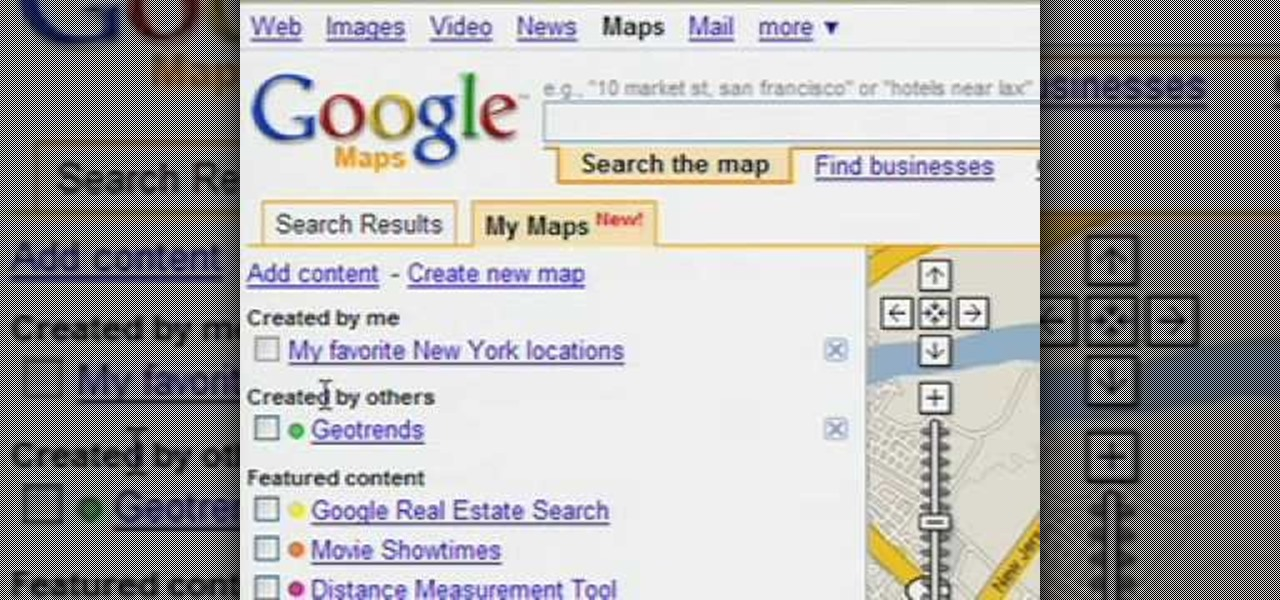 how to create zone in google maps