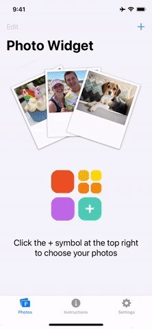 Make your home screen photo widget only an image or specific album in iOS 14 instead of random images every hour