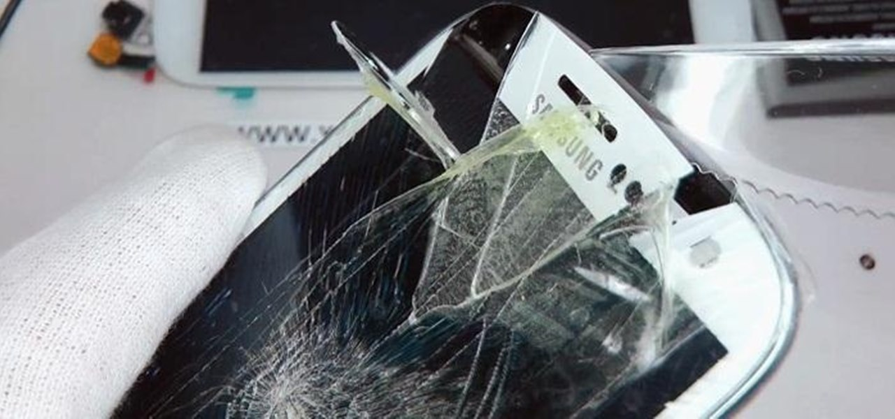 Replace the Cracked Screen on Your Samsung Galaxy S III