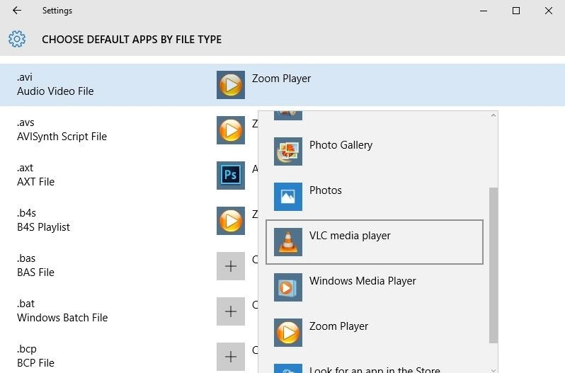 How to Change the Default Apps Windows 10 Uses by Default