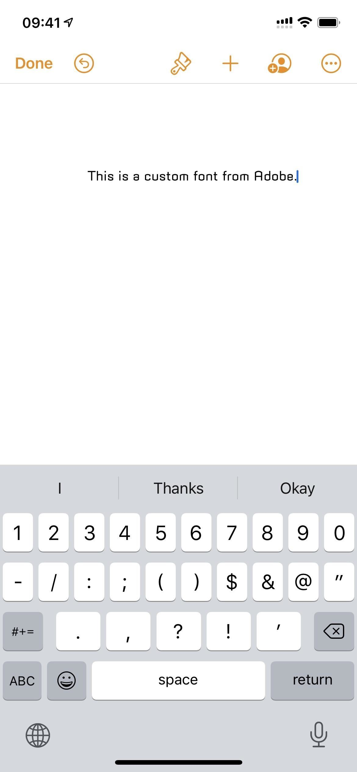 This App Gives You Thousands of Free Custom Fonts for Your iPhone's Stock Keyboard