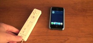 Use a Wii Controller to play games on your iPhone 3GS