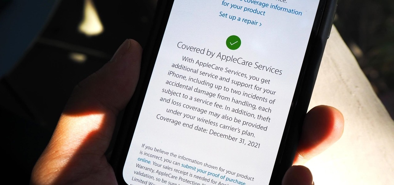 Quickly Check if Your iPhone Is Still Covered by Apple's Warranty or AppleCare
