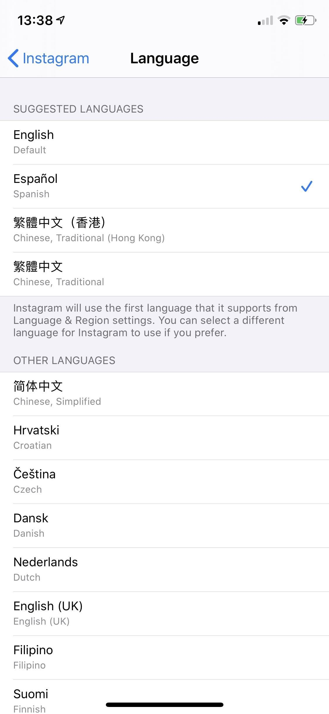How to Change Languages on a Per-App Basis on Your iPhone in iOS 13