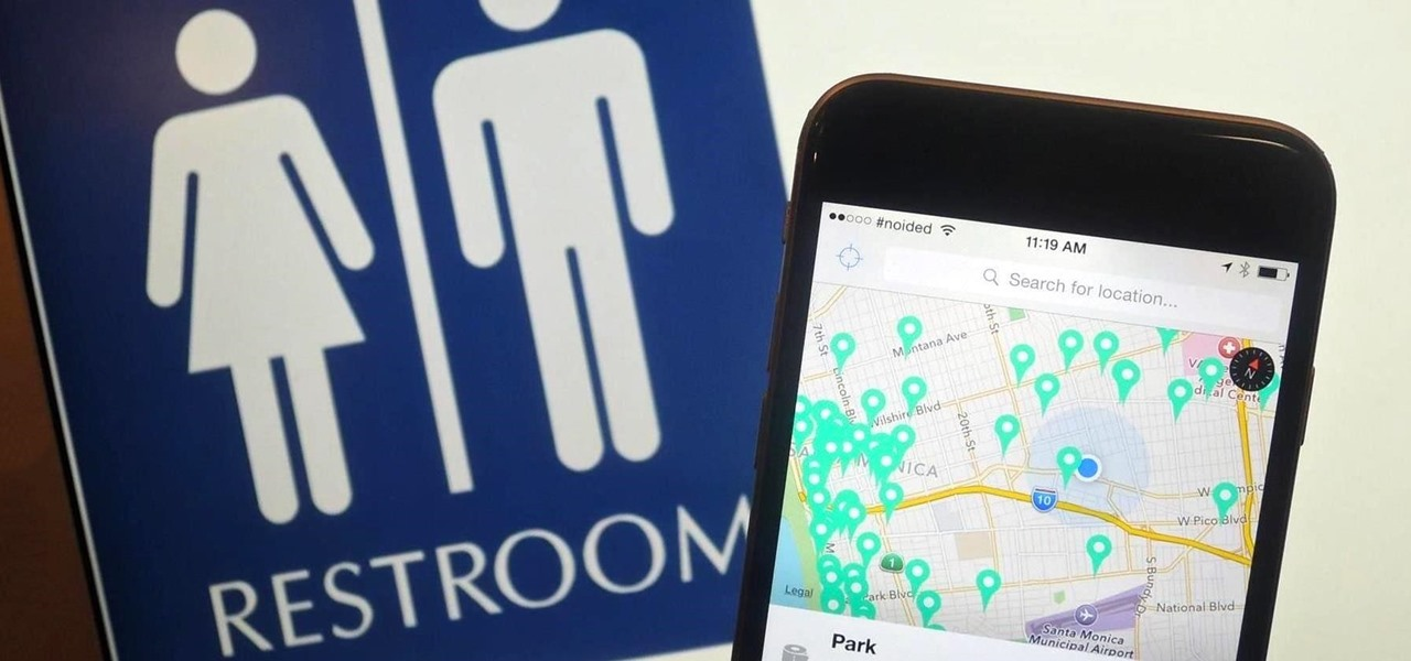 Find the Nearest Public Restroom on Your iPhone