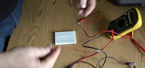 Test a breadboard using a multimeter