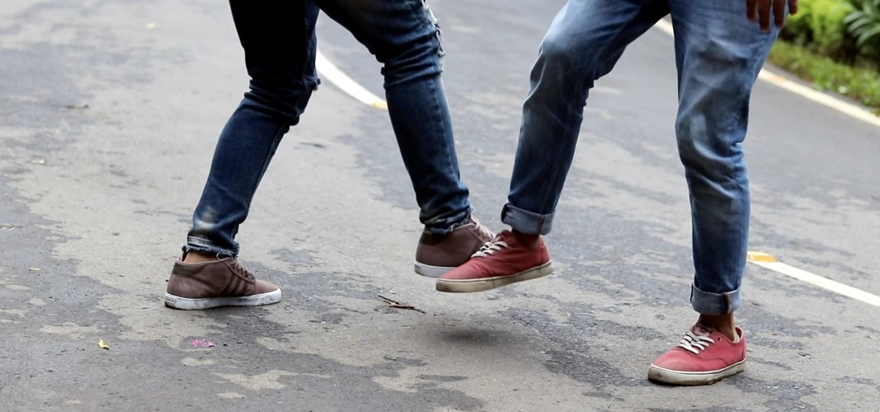 Dance TikTok's Footshake Challenge in 3 Different Ways