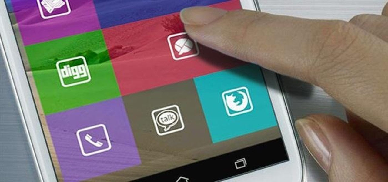Get Windows 8 Metro-Style Live Tiles on Your Android Device