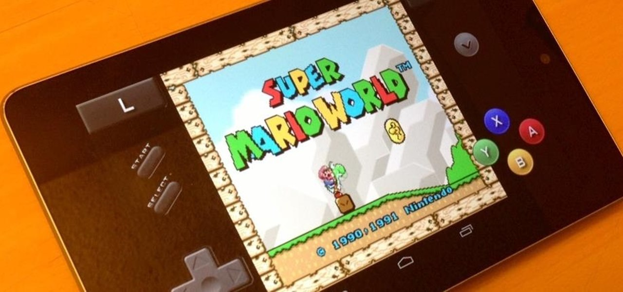 Play Almost Any Retro Video Game on Your Nexus 7 Tablet
