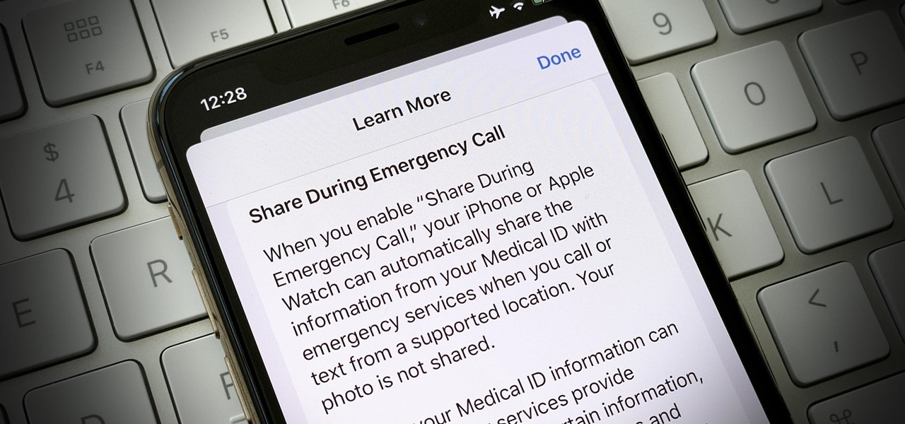 Share Your iPhone's Medical ID with First Responders When Placing an Emergency Call or Text