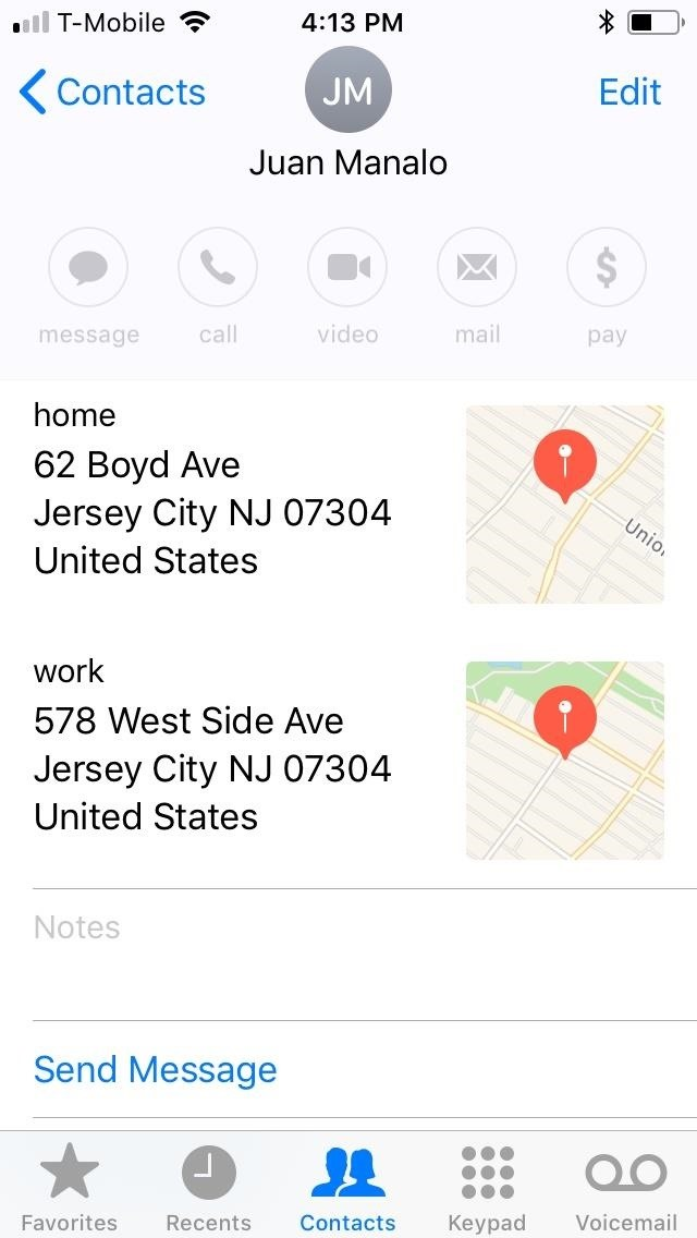 Apple Maps 101: How to Change Your Home or Work Address