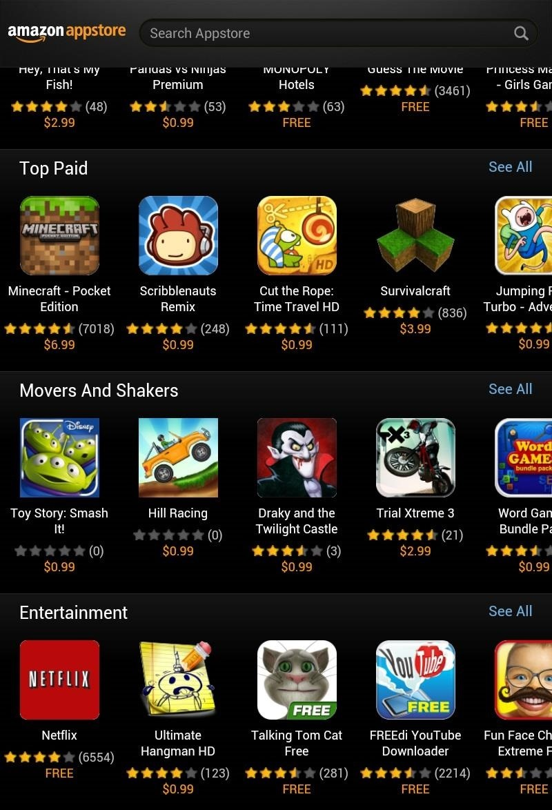 Tired of the Play Store? Use the Amazon Appstore on Your Nexus 7 Instead (& Get Free Daily Apps!)