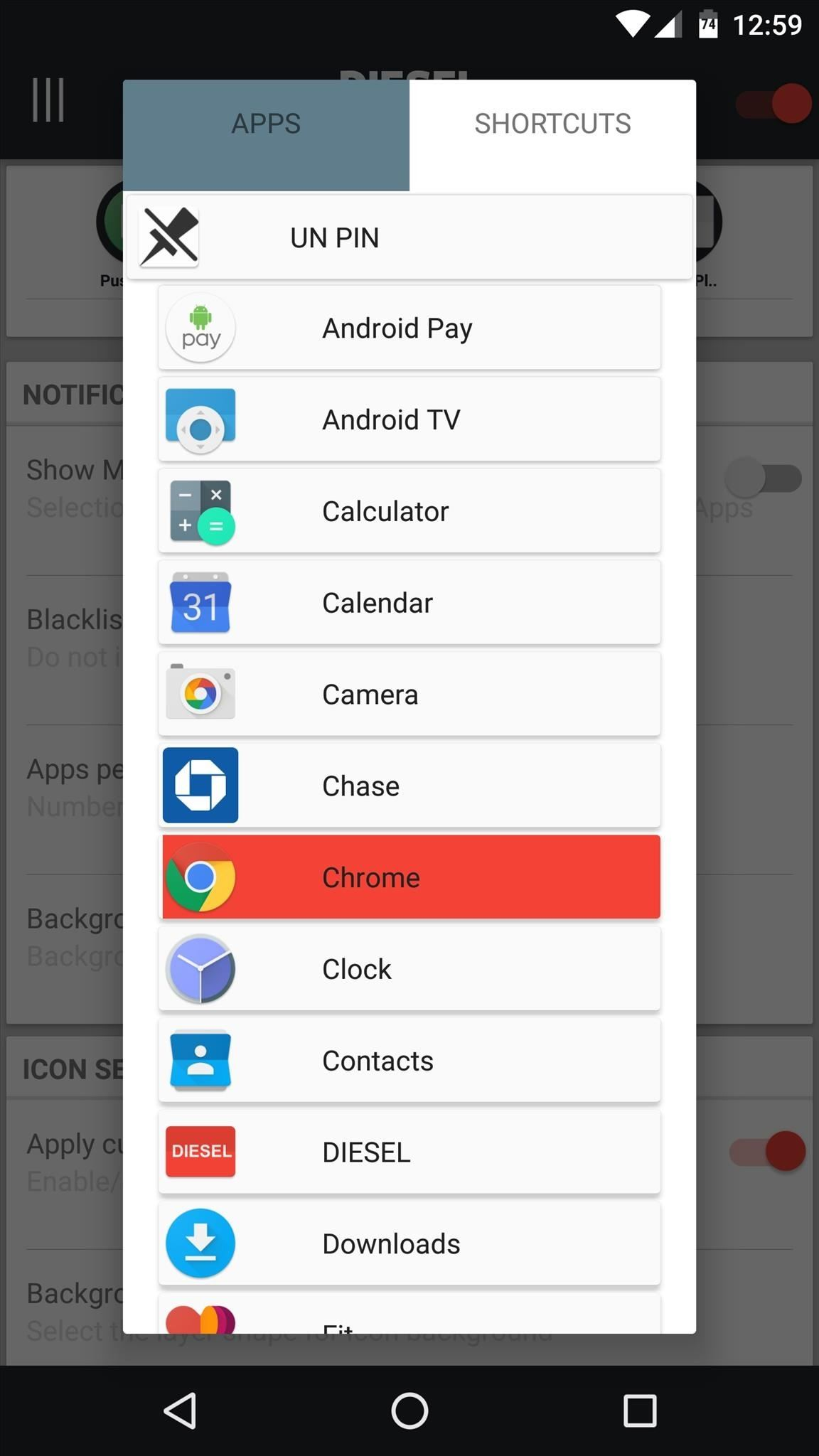 Access Your Favorite Apps Right from Your Android's Pull-Down Menu