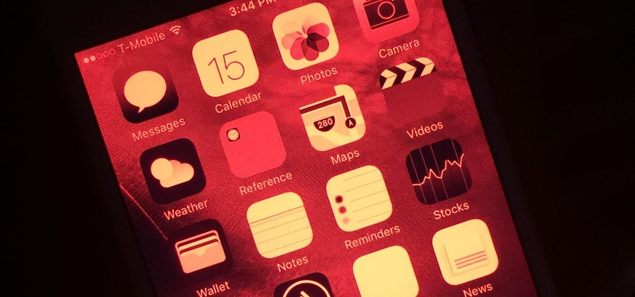 How To: Keep Your Night Vision Sharp with the iPhone's Hidden Red Screen