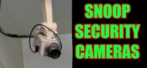 Hack security cameras using search engines