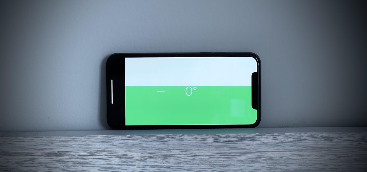Turn Your iPhone into a Digital Level to Make Objects & Surfaces Straight, Plumb, or Angled
