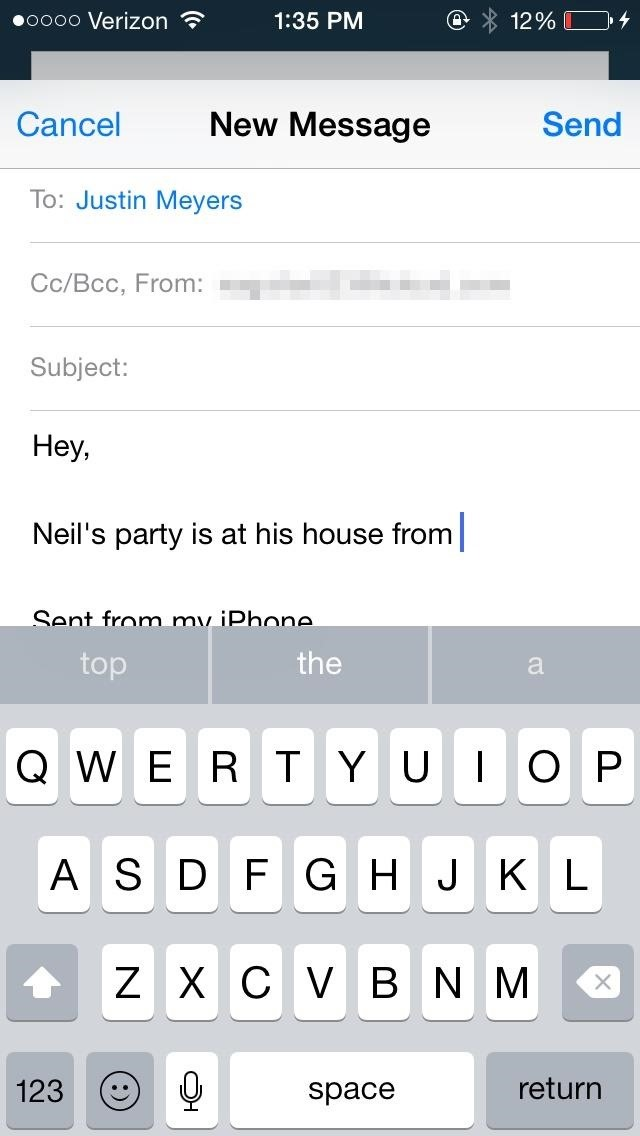 How to Minimize Email Drafts into Tabs on Your iPhone or iPad for Faster Access Later