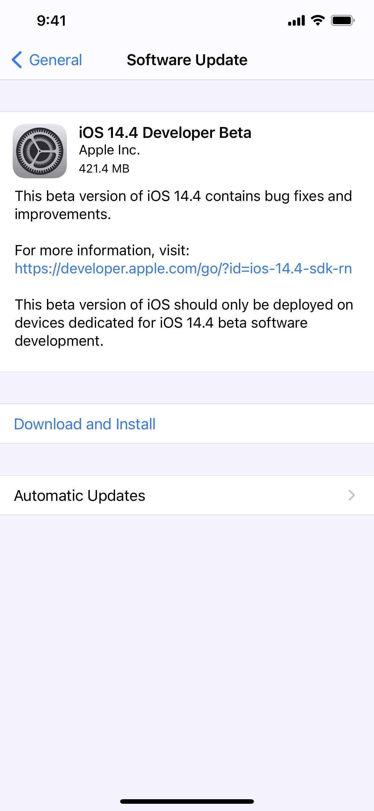 iOS 14.4 Developer Beta Released on iPhone with More App Clip Experiences & Privacy-Geared Tracking Requests