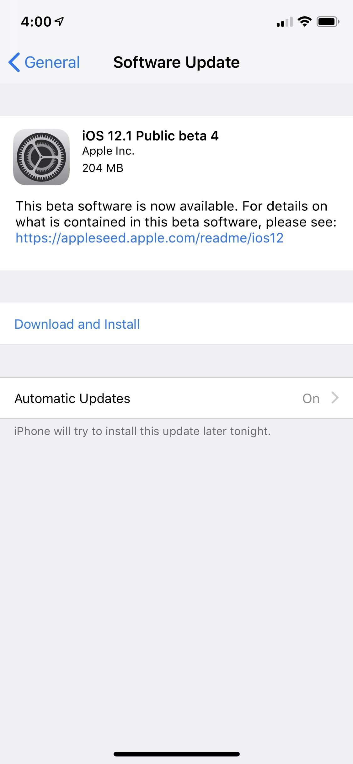 iOS 12.1 Public Beta 4 Is Out Right Now for iPhone Software Testers