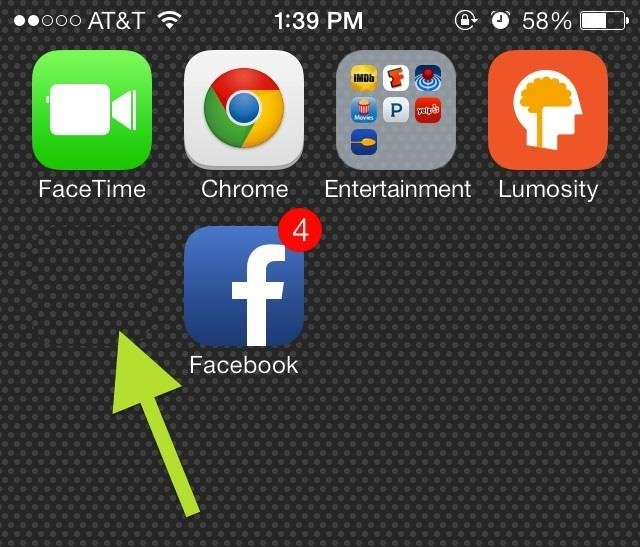 How to Move App Icons Wherever You Want on Your iOS 7 Home Screen