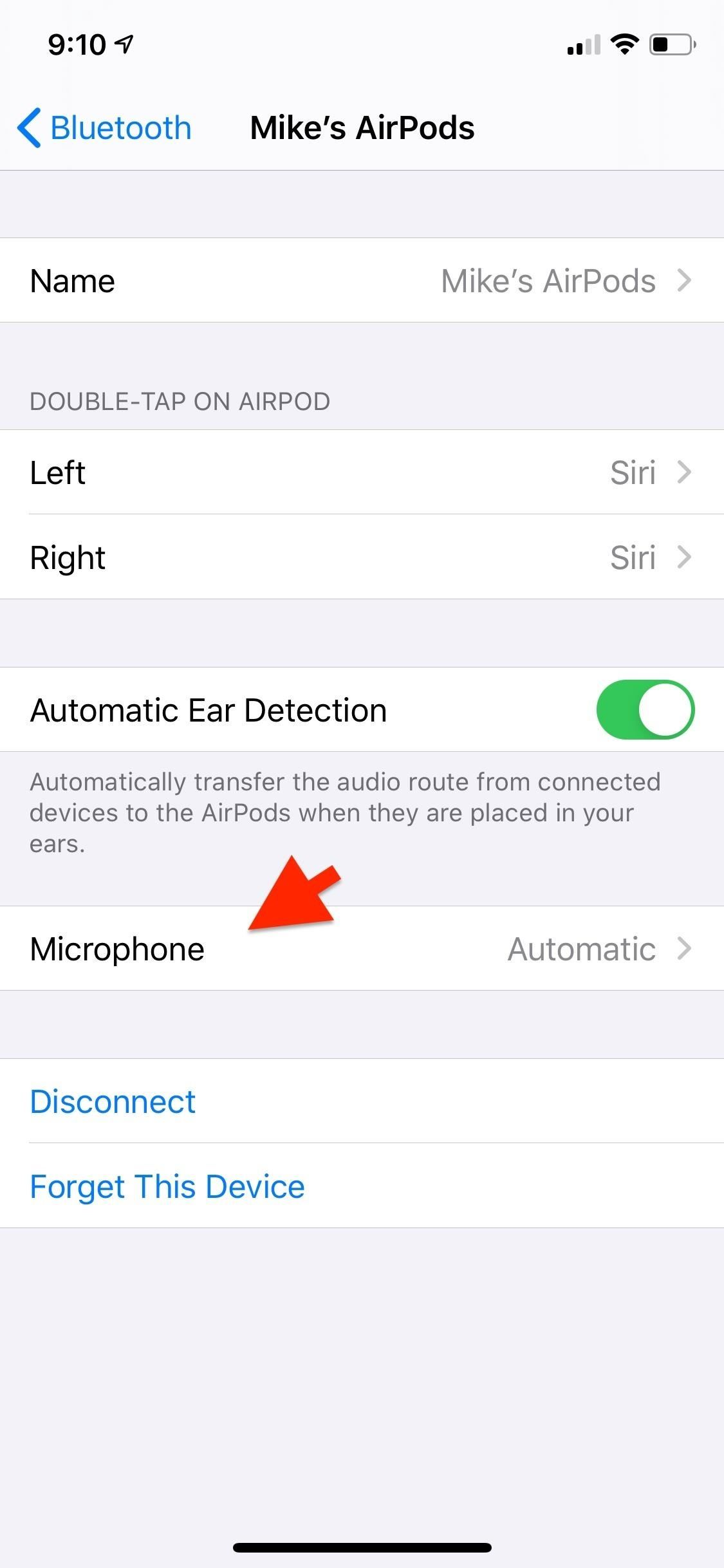 How to Switch the Default AirPods Microphone to Stick to Your Preferred Ear