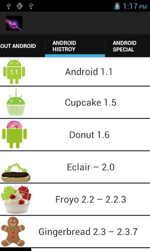 """Become an Android Historian with This """"Sweet"""" Fact-Dishing App for Honeycomb & Higher"""