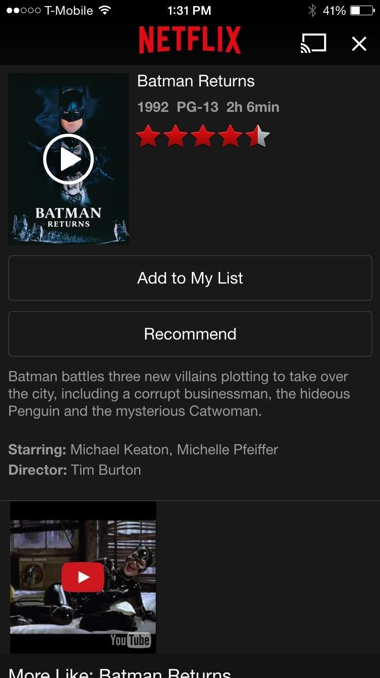 Add Movie Trailers to Your iPhone's Netflix App « iOS & iPhone