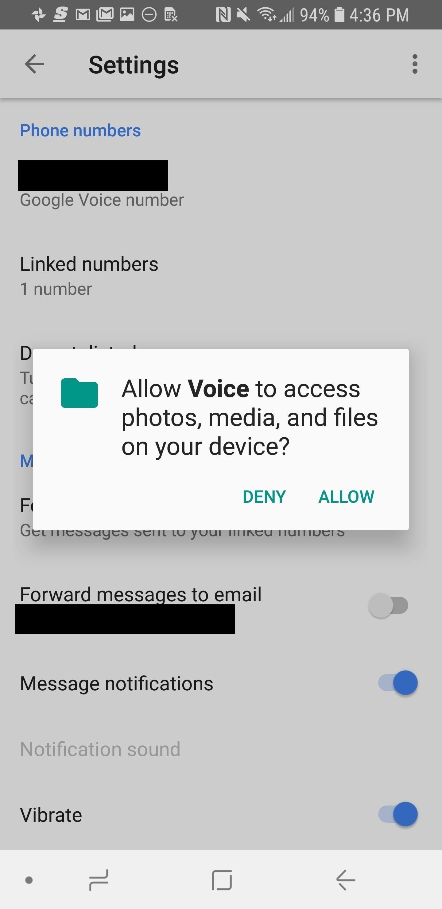 How to set up google voice to get visual voicemail on your unlocked you can also have them texted to you if you select get voicemail via message m4hsunfo