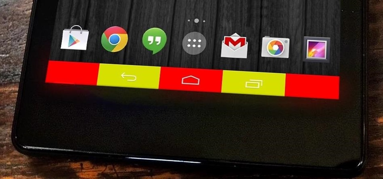 Add Color to Your Nexus 7's Navigation Bar