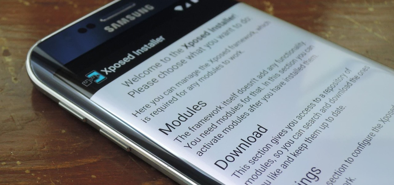 Install the Xposed Framework on Your Samsung Galaxy S6 or S6 Edge