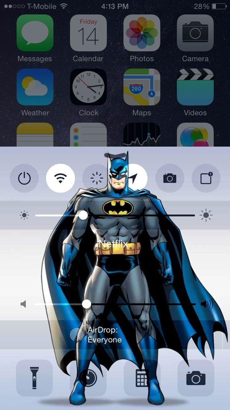 Add a Custom Background Image to Your iPhone's Control Center