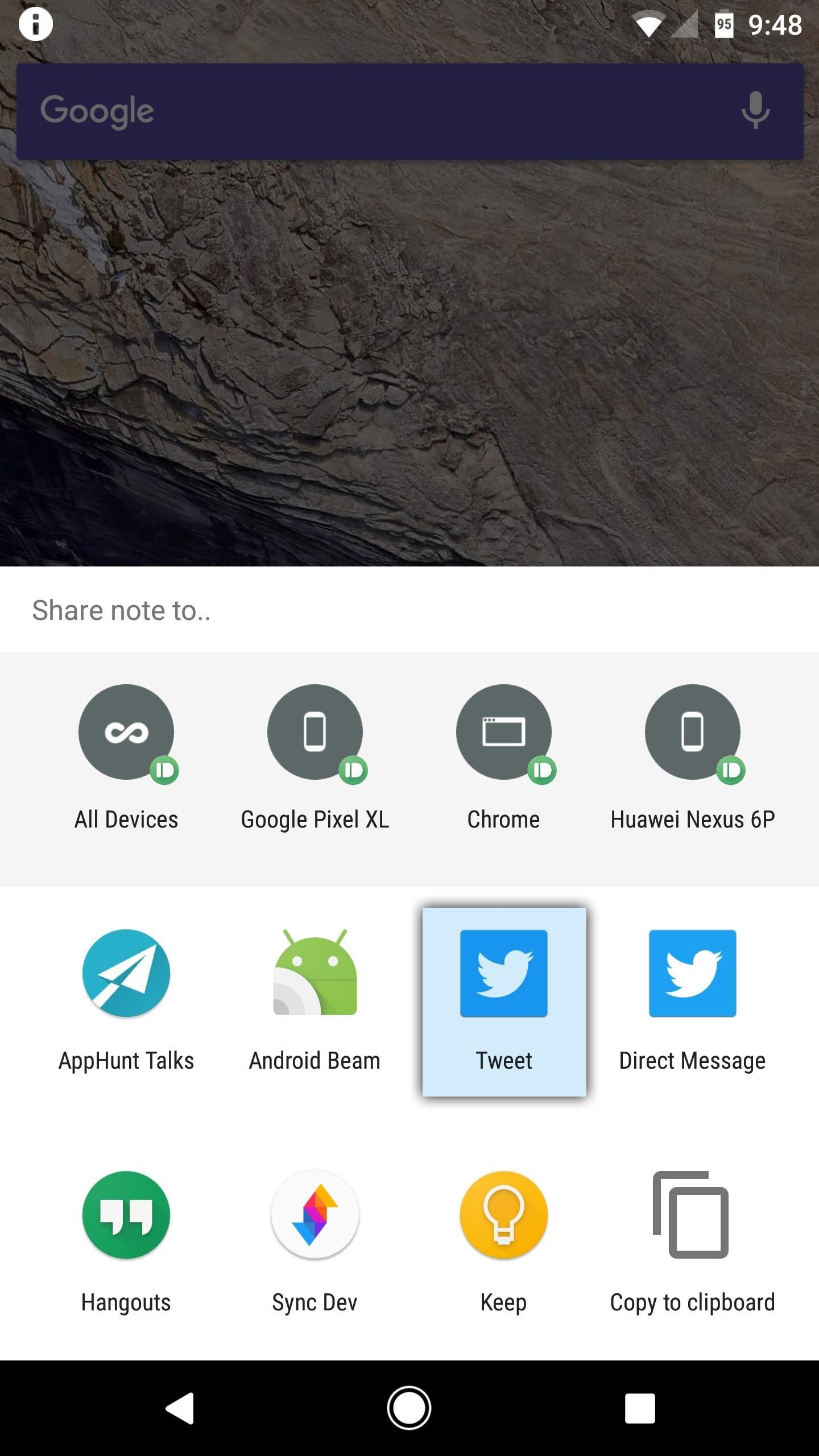 How to Message, Take Notes & Tweet Directly from Android's Quick Settings Panel