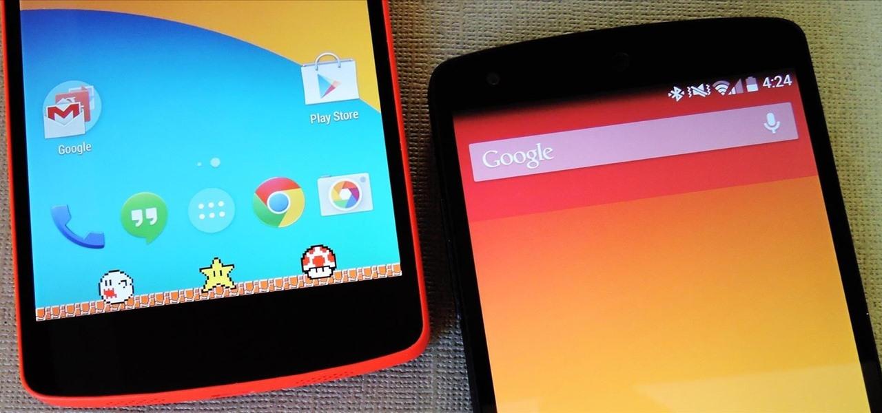 Theme the Navigation & Status Bars on Your Nexus 5