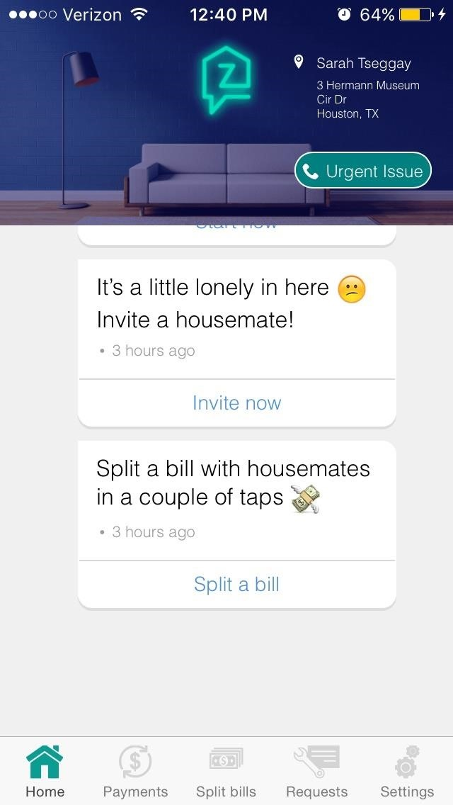 Zently Takes on Venmo with New Bill-Splitting Feature