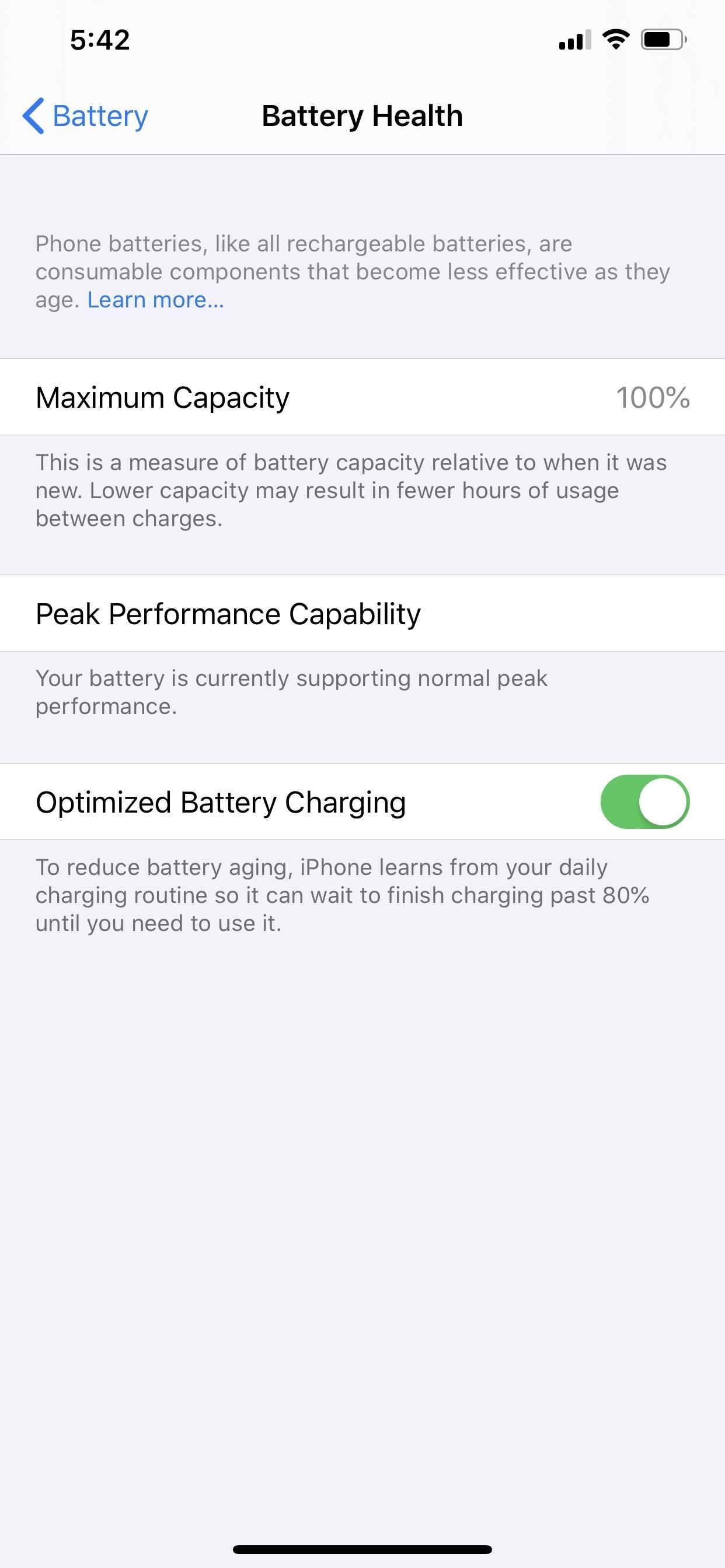 best service accd8 dca39 iPhone Not Charging Past 80%? Here's Why (& How to Fix It) « iOS ...