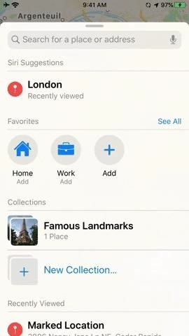 How to Create Lists of Locations Using Collections in Apple Maps for iOS 13