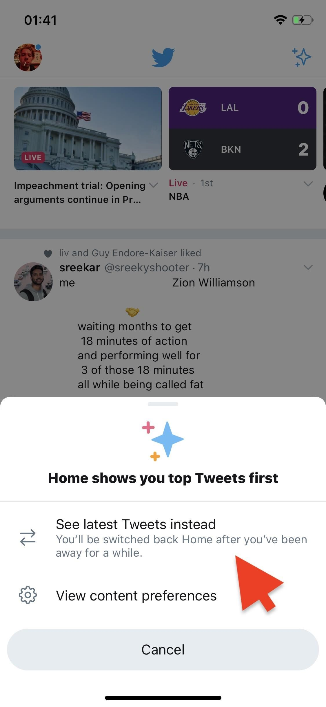 How to Change Your Twitter Timeline Back to Reverse-Chronological Order
