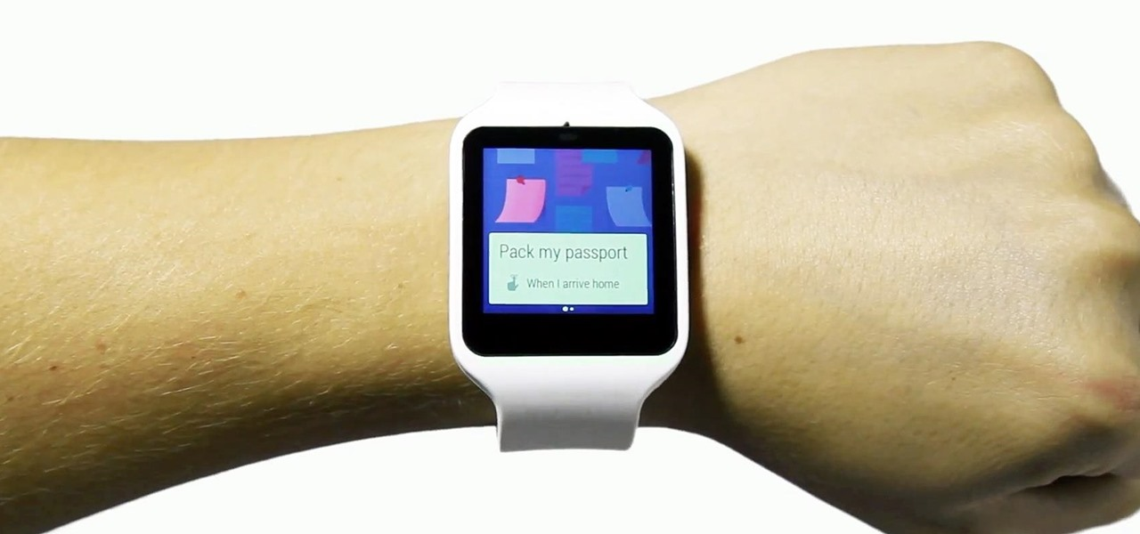 Sony's Smartwatch 3
