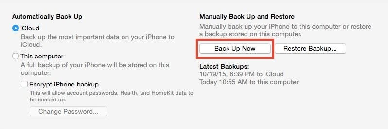 How to Back Up Your iPhone Using iTunes on macOS or Windows